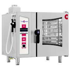 10 rack gas combi oven