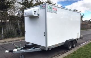 Supersize Refrigerated Trailer